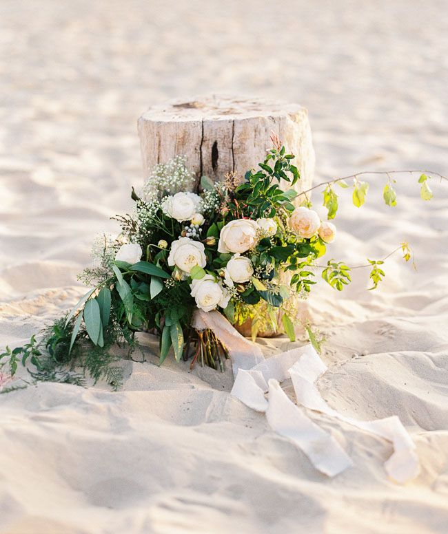 Best beach wedding elements and flowers images on