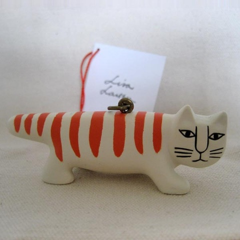 Keyring Lisa Larson Randig Katt by Powershovel Japan 120 sek, #lisalarson #mikey