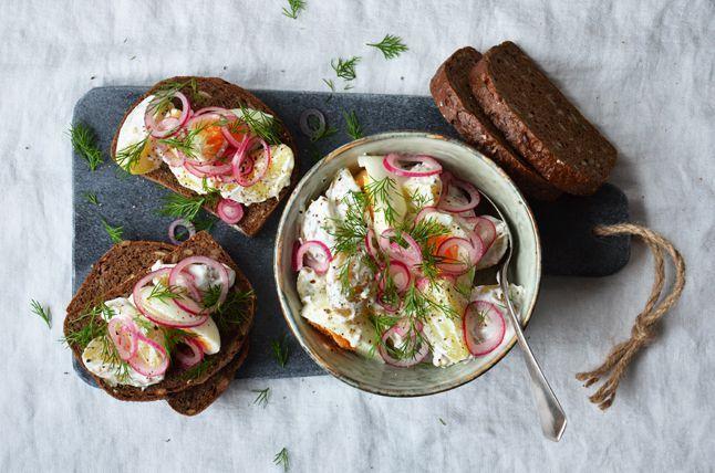 Kublanka vaří doma - Skandinávský bramborový salát