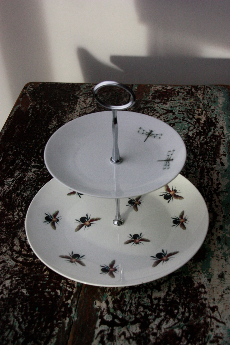 Upcycled Cake Stand, by Sarah Haines