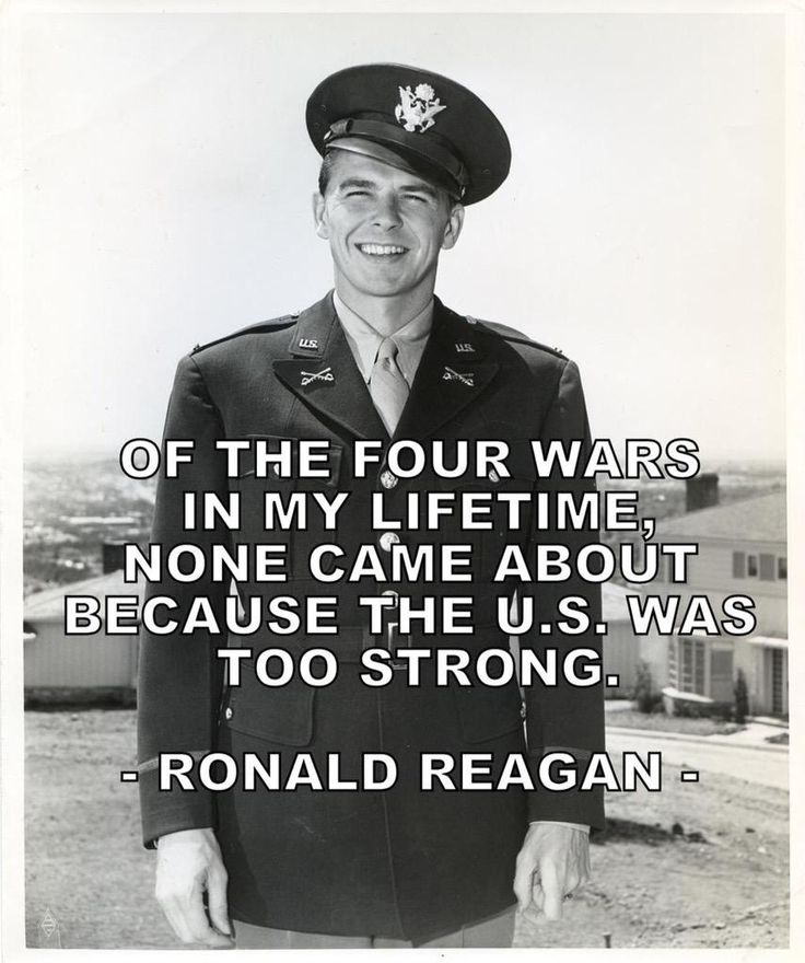 QUOTE OF THE DAY BY RONALD REAGAN                                                                                                                                                     More