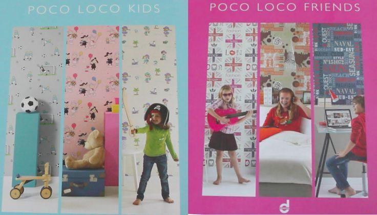 Купить детские обои Poco Loco Dekens | Интернет магазин обоев