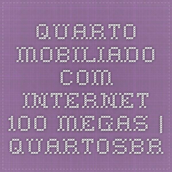 QUARTO MOBILIADO COM INTERNET 100 MEGAS   QuartosBR