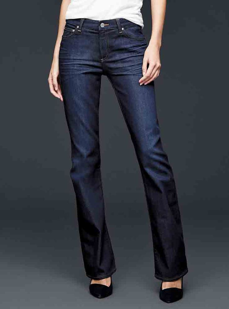 The Best Jeans for Women with Round Tummies - GAP from InStyle.com