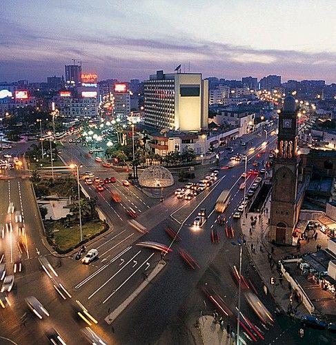 Kazablanka City View  http://www.turlar.pro/kurban-bayrami-fas-marakes-kazablanka-yurtdisi-turlar/