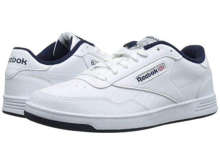 Reebok Lifestyle Club Memt Men's Classic Shoes White/Collegiate Navy