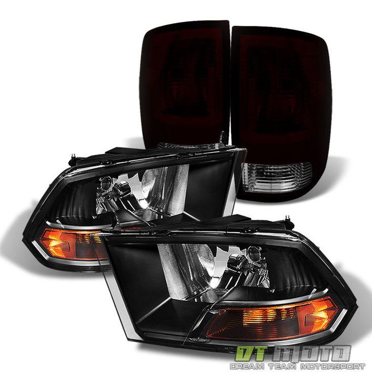 2010-2017 Dodge Ram 1500/2500/3500 Headlights+Blk Tinted taillights Brake Lamps | eBay Motors, Parts & Accessories, Car & Truck Parts | eBay!