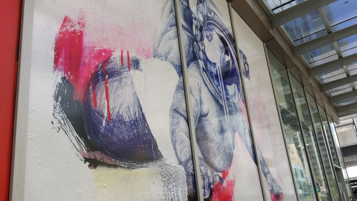 Location: 140 William St. Artist: Andy Quilty. Date: 2013. One40William Project