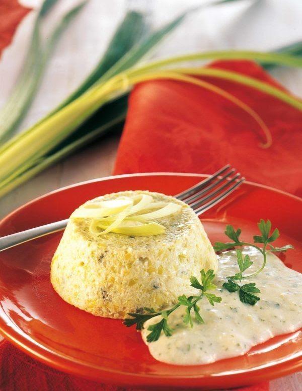 Sformatini con salsa al gorgonzola - Cucina Naturale