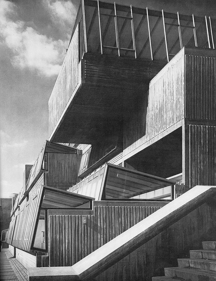 pimlico school by john bancroft 1967-70 architectural review, july 71