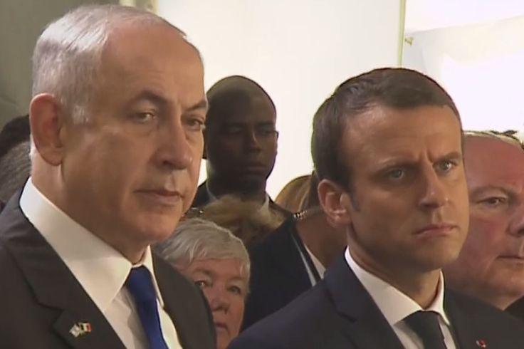 """Emmanuel Macron a réaffirmé dimanche que """"c'est bien la France qui organisa"""" la rafle du Vel d'Hiv en juillet 1942 et la déportation de milliers de juifs"""