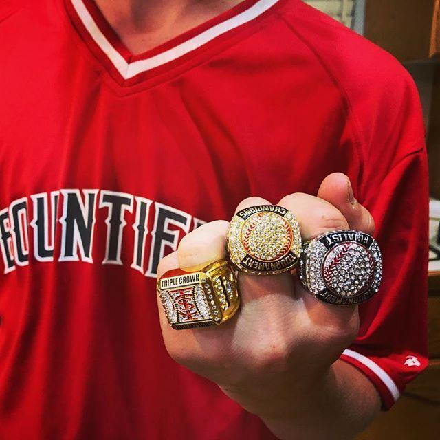 Bling Bling Bling Softball Gloves Jewelry