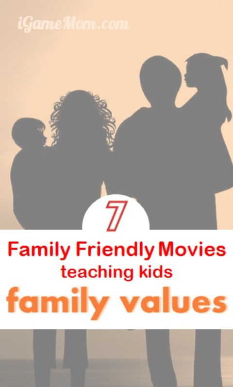 With society and family structures change so much over time, family values are changing too. How often do you talk with kids about family values? How do you get it started? These 7 family friendly movies are great to watch with kids and can help you to have an easy start on your family value talk. They are not only great for family movie nights, but also wonderful summer movies for kids.