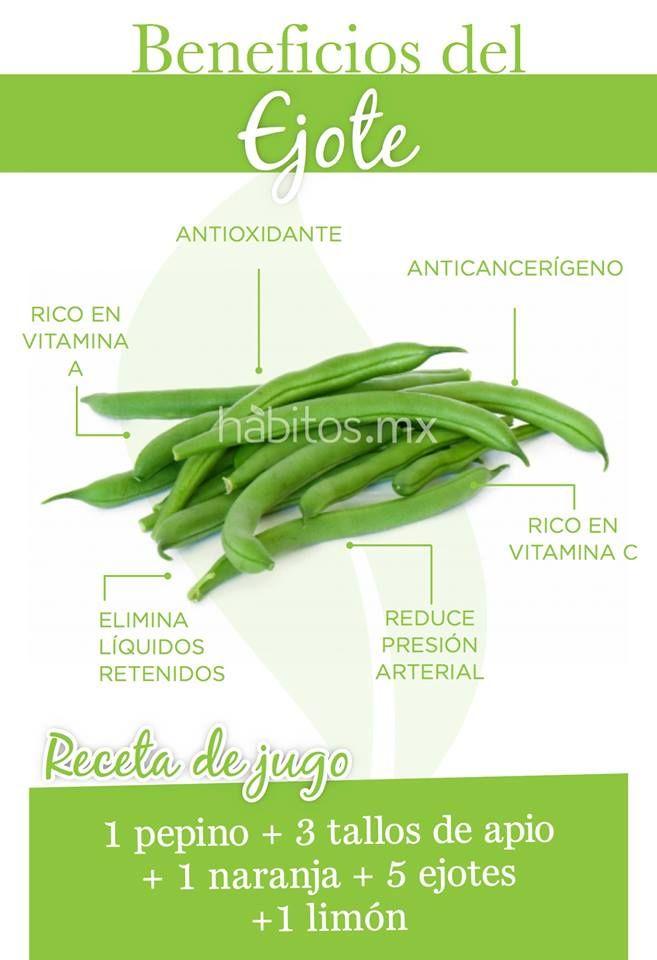 Beneficios del ejote. #hábitosmx #health #salud