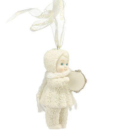 Look what I found on #zulily! Merry Music Tamborine Ornament by Snowbabies #zulilyfinds