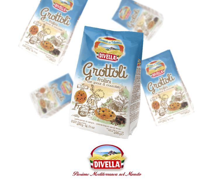 Un armonia di gusto e genuinità contraddistingue i nostri Grottoli: biscotti con dolce pasta frolla e gocce di cioccolato. Scopri il prodotto qui: goo.gl/n00qGW