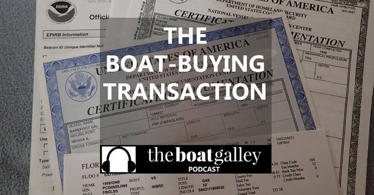 Now that you've found a boat want to buy, how does the transaction work? What about a loan? Survey? Insurance? Closing? The documents, procedure and money details of buying a boat. via @TheBoatGalley