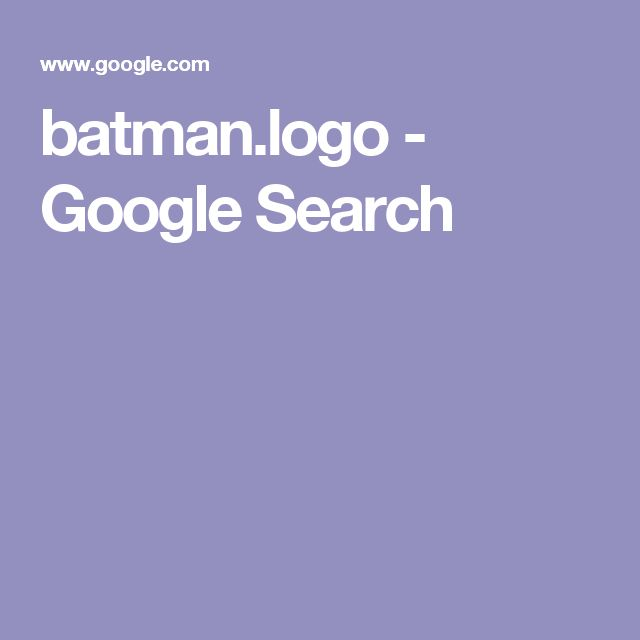 batman.logo - Google Search