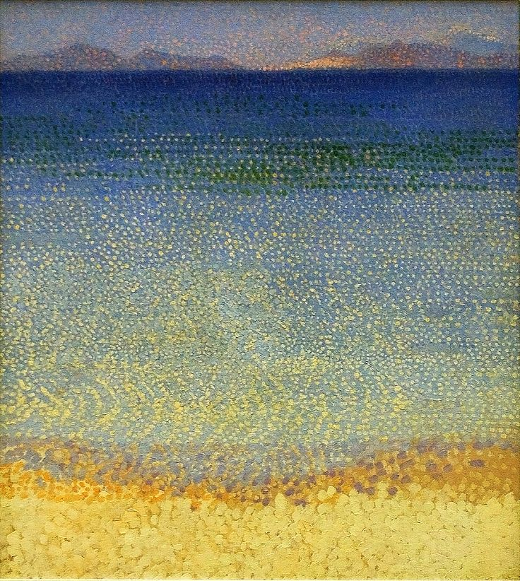 Henri Edmond Cross (1886-1910) was a French painter and printmaker. He is most acclaimed as a master of Neo-Impressionism, and he played an important role in shaping the second phase of that movement. He was very influential to Henri Matisse and many other artists, and his work was an instrumental influence in the development of Fauvism. Cross's paintings of the early- to mid-1890s are characteristically Pointillist, with closely and regularly positioned tiny dots of color.