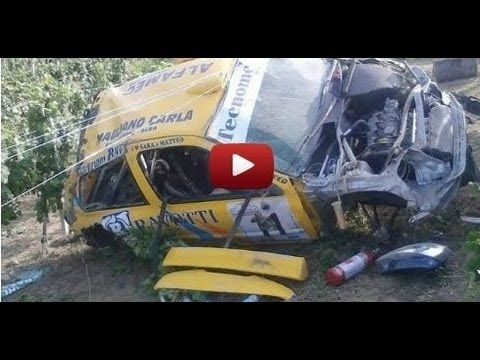 Horrific Accident Rally Crash - Onboard Racing Camera Car Video