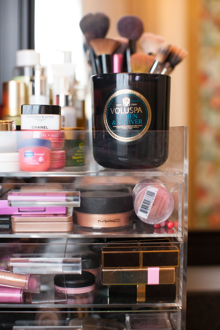 Makeup Organization//Chronicles of Frivolity