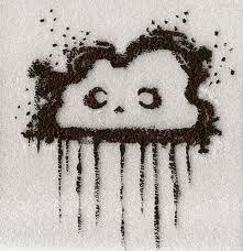 Rain cloud tattoo...yup want something like this! I LOVE the rain!