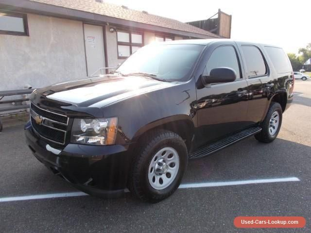 2010 Chevrolet Tahoe Special Service police vehicle #chevrolet #tahoe #forsale #canada