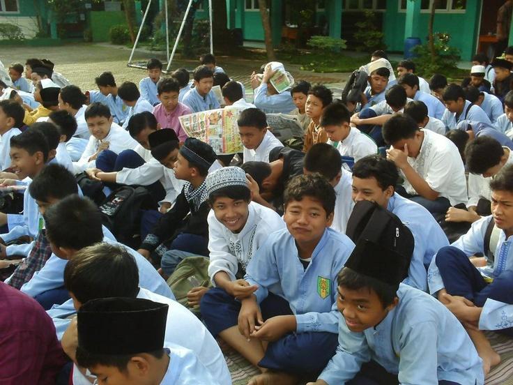 acara Maulid nabi di mts.muhammadiyah 1 depok