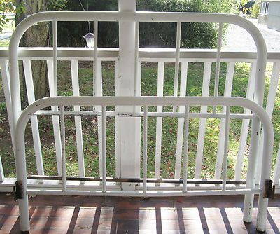 vintage metal bed frame google search