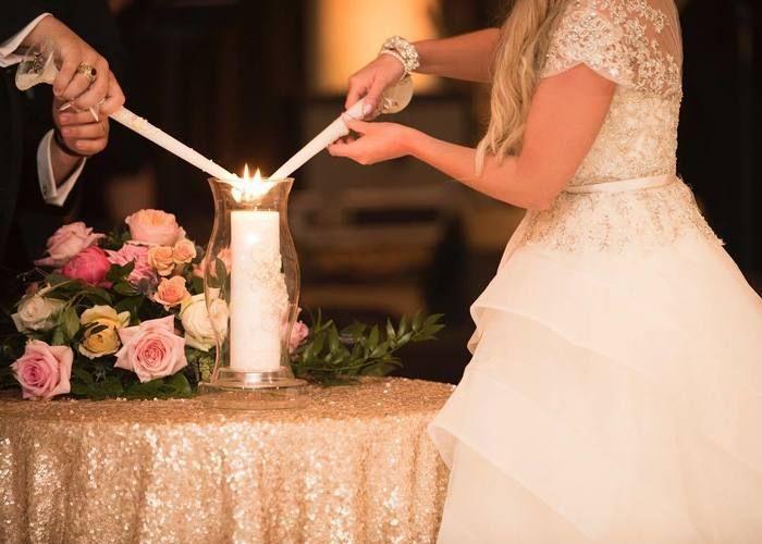 目新しい結婚式演出*新しい家族が誕生したことを表す、【ユニティキャンドルセレモニー】って知ってる?♡のトップ画像