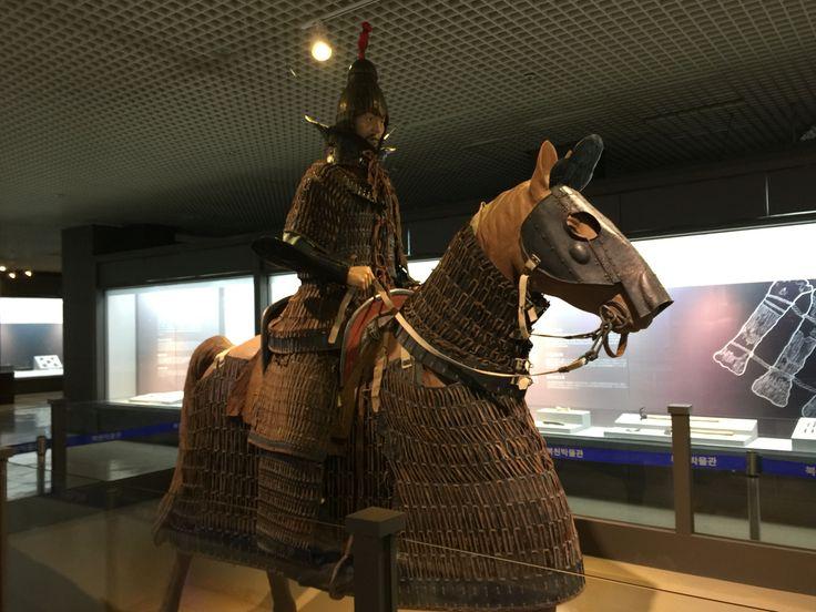 Bokcheon Museum Gaya warrior