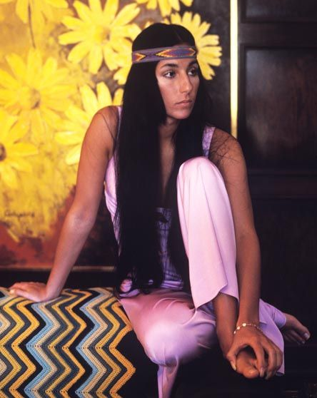 Cher, - loved her from the 60/70's