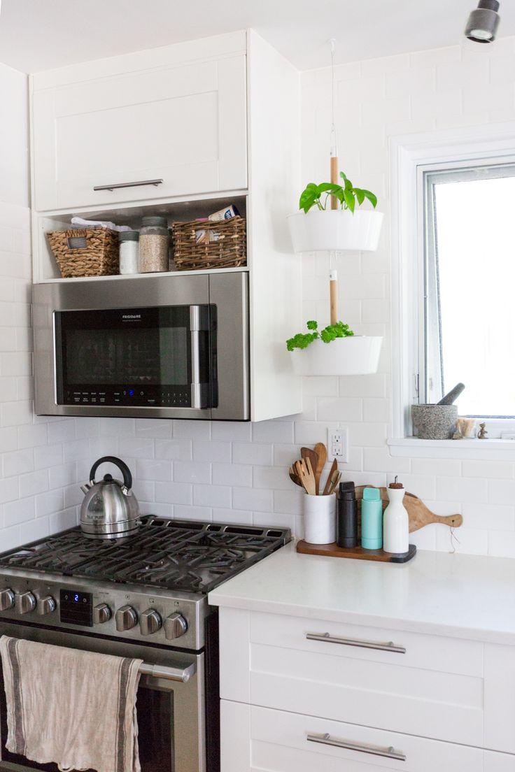 Clean IKEA Kitchen | (Proudly Canadian) House Tour – Sabrina Smelko