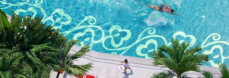 Pool heaven - Mandarin Oriental Hotel, Bangkok