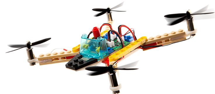 Flybrix, the only Make Your Own LEGO® Drone Kit gives you a fun and thrilling way to build the drones you imagine -- then fly them!