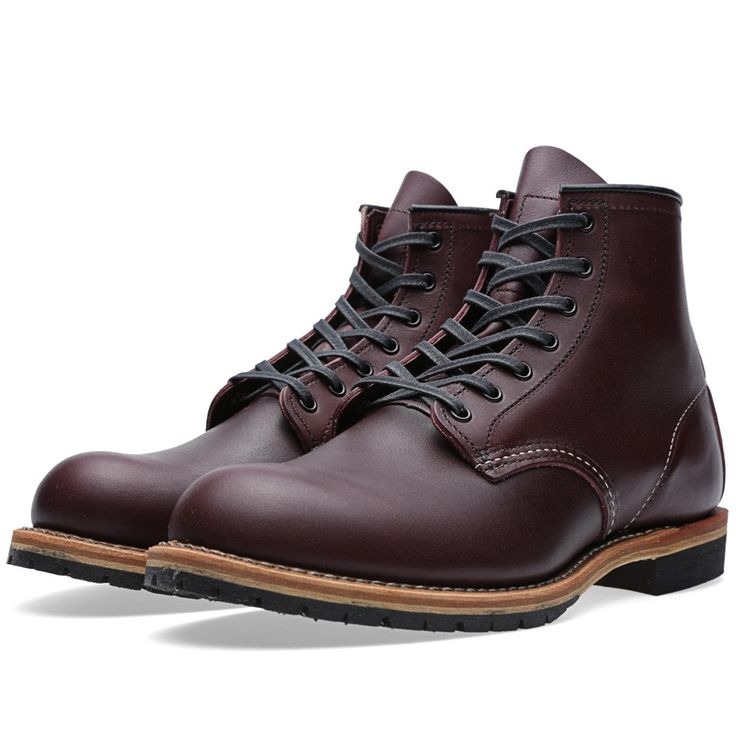 """Red Wing 9011 Beckman 6"""" Round Toe Boot (Black Cherry Featherstone)"""