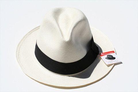 panama hat - fedora - ivory