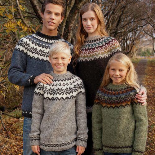 Modèle Afmaeli de Tricoteuse d'Islande (gratuit)