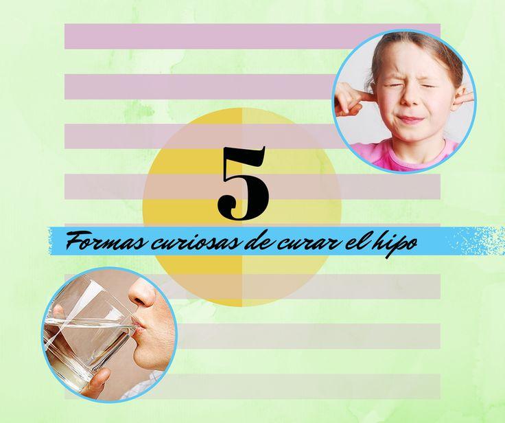5 Formas curiosas de curar el hipo >