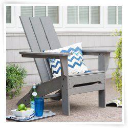 Plastic Adirondack Chairs | Resin Adirondack Chairs | hayneedle.com
