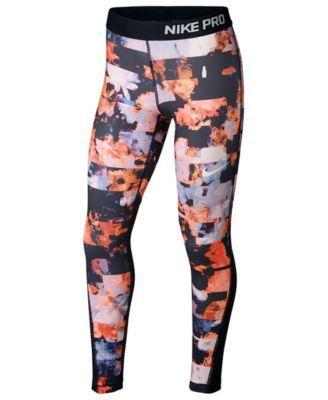 de0c129e7ccfc2 Nike Printed Pro Tights Leggings, Big Girls (7-16) | GRANDDAUGHTER ...