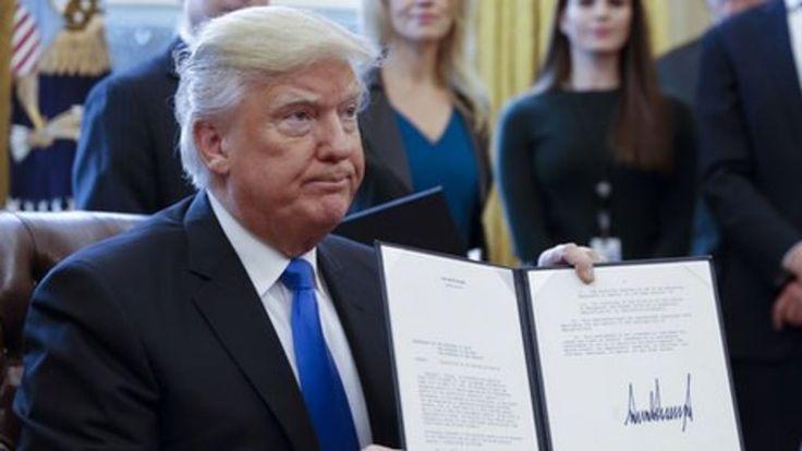Trump's 'control-alt-delete' on climate change policy - BBC News