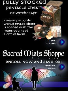 Online Wicca College & Wiccan Degree Programs   Sacred Mists