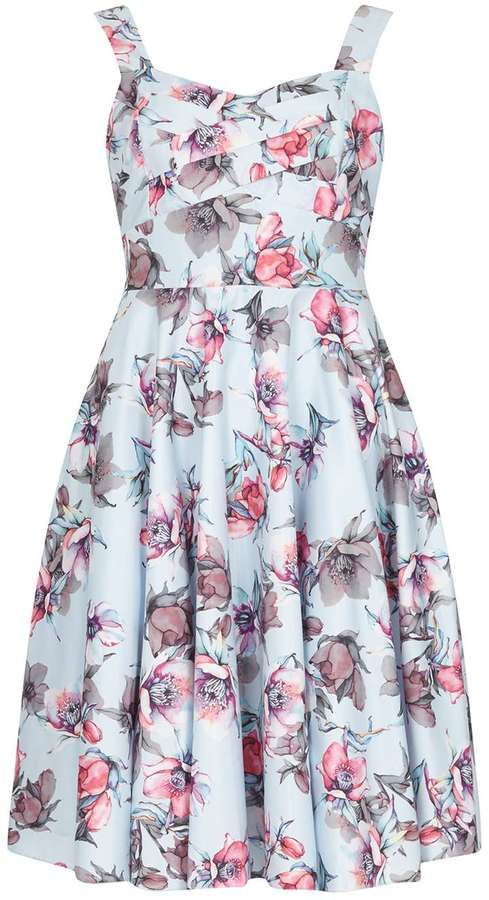 **Izabel London Light Blue Summer Dress