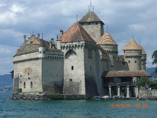 Chateau de Chillon in Montreux, Switzerland.