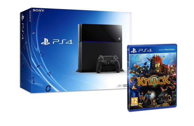 Win a PlayStation 4 with Knack™ game and PS+