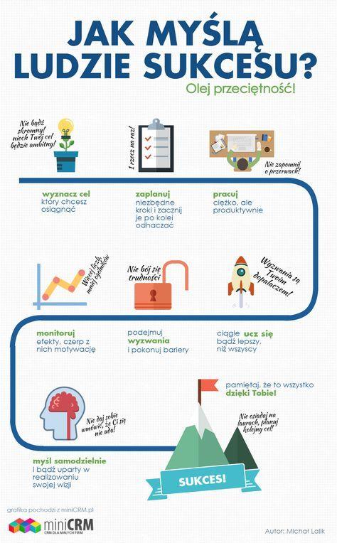[Infografika] 10 cech jakie wyróżnia ludzi sukcesu. Czy potrafisz myśleć, jak ludzie sukcesu?