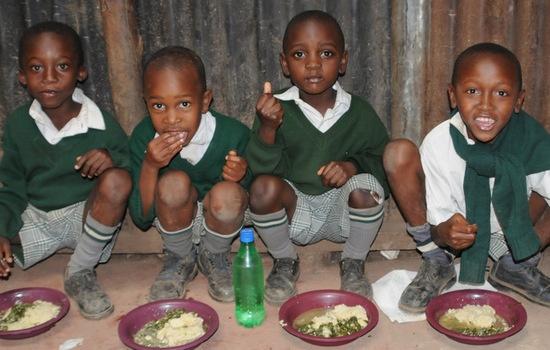 Bright Hope | Mathare Valley School Feeding Program