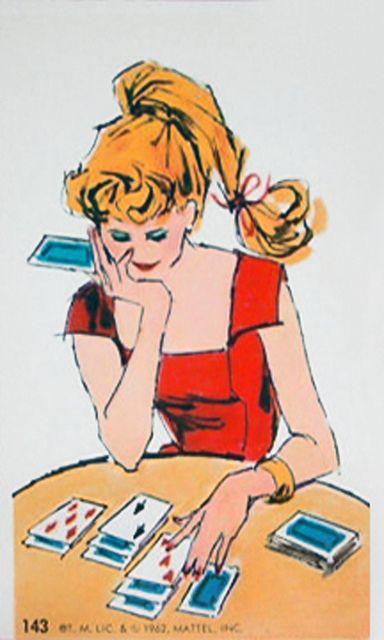 1962 Mattel, Inc. Vintage Barbie Jumbo Trading Card # 143 by Tinker*Tailor loves Lalka, via Flickr
