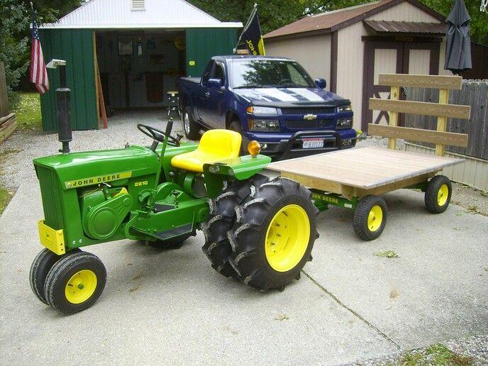 Custom Garden Tractor Wheels : John deere pinterest